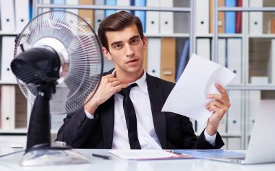 Managing office temperature